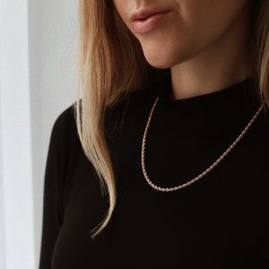 Hamptons Rope Chain | 18k Gold Filled